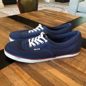Vans Men's Shoes. Navy color